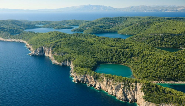 National park and the greenest Adriatic island of Mljet